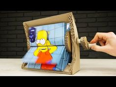 How to Make Flipbook Animation Machine at Home - YouTube