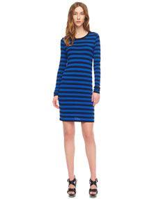MICHAEL Michael Kors - Striped Knit Dress