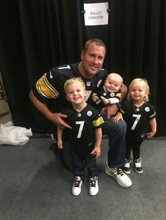 ben roethlisberger wife and kids Steelers Pics, Here We Go Steelers, Pittsburgh Steelers Football, Pittsburgh Sports, Steelers Gear, Steelers Stuff, Dallas Cowboys, Ben Roethlisberger, Football Memes