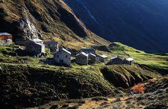 Die Jagdhausalmen im Defereggental zählen zu den kulturellen Highlights im Nationalpark Hohe Tauern.