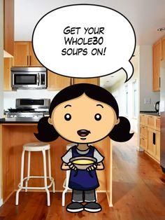 Whole30 Soup Ideas by Michelle Tam http://nomnompaleo.com