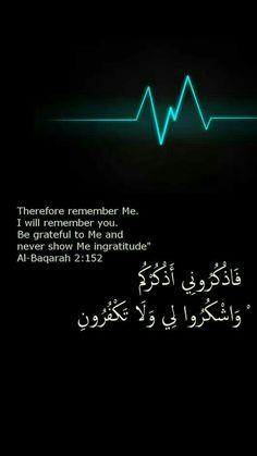Al Baqarah 2 : 152