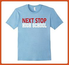 d31c69a4389 Mens NEXT STOP High School Graduate Teacher Student T Shirt Medium Baby  Blue - Careers professions