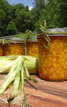 Farm Fresh Corn Relish Recipe