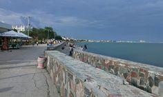 На набережной в Евпатории.        21 июня 2014 г.