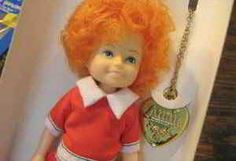 Annie doll and locket