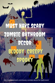 Must Have Scary Zombie Bathroom Decor