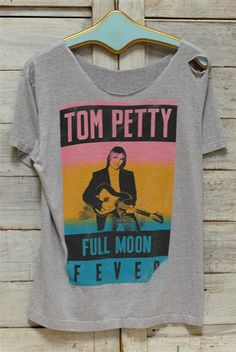 af92b865 Tom Petty Tom Petty Shirt, Band Tees, Casual Looks, Virtual Closet, Classic