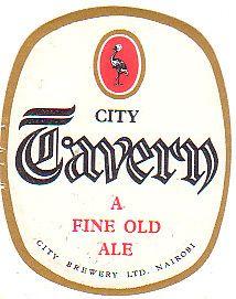 City Tavern Beer Label