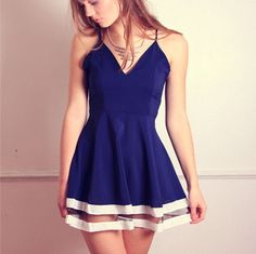 Siren London Navy Keepers Dress