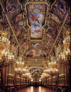 The Paris Opera...breathtaking!!!