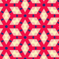 Van Speyk Pink fabric by stoflab on Spoonflower - custom fabric