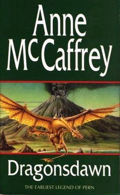 Pern Books by Anne McCaffrey and now Todd McCaffrey (her son).  I really want a Gold Dragon!