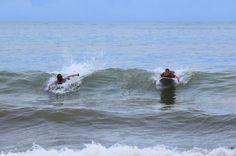 dominicalito waverider paddling   - Costa Rica
