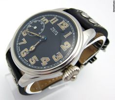 http://www.jamesedition.com/watches/rolex/other/antique-military-mechanical-15-jewel-c1918-stunning-watch-for-sale-541845  $13,889  1918 Military Mechanical Watch