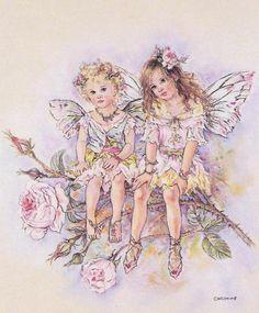 Christine Haworth Rose Petal Faeries (Faerie Poppets)