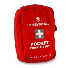 Lifesystems Pocket First Aid Kit The Lifesystems Pocket First Aid Kit is a compact first aid kit that easily attaches to a belt or rucksack and contains enough kit to treat most minor injuries making it ideal for taking with you for  http://www.MightGet.com/january-2017-11/lifesystems-pocket-first-aid-kit.asp