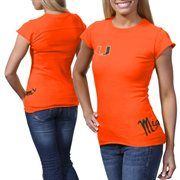 Miami Hurricanes Ladies Alleviation Slim Fit T-Shirt - Orange