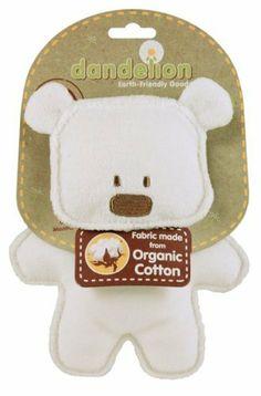 Dandelion Classic Organic Toy Crinkle Bear by Dandelion, http://www.amazon.com/dp/B002SG7IWC/ref=cm_sw_r_pi_dp_WVslrb139QBMZ