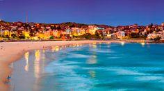 Sydney, Australia for Bondi Beach. Available bars and little boardwalk shops near the beach #Sydney #BondiBeach