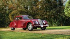 """High bid of €1,800,000 (£1,350,000)Known as the """"Mussolini Mistress"""", this 1939 Alfa Romeo 6C2500 so... - Tom Wood courtesy of RM Auctions"""