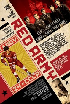 Red Army The documentary film features the most successful team in sport history: the Red Army hockey team during the Cold War. Through stories from its members and captain Slava Fetisov, the film examines the influence of political movement to sports.