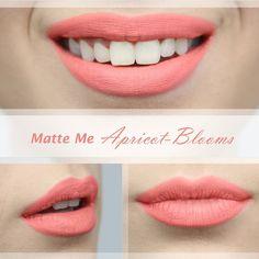 Krásny marhuľkový odtieň ideálny na prichádzajúce letné obdobie <3 Odtieň Apricot Blooms v podobe tekutého matného rúžu Matte Me od anglickej značky Sleek MakeUP