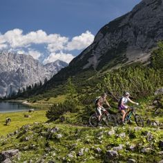 Mountain biking in Tirol © Österreich Werbung/Ronny Kiaulehn