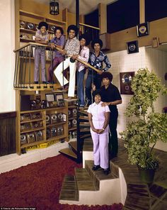 Cover photo: This shot of Marlon, Tito, Jermaine, and Jackie Jackson, as well as father Joe, and mother Katherine, appeared on the September 24, 1971 cover of LIFE Magazine.    LIFE Magazine photographer John Olson followed some of these big name stars home to see their parents to tell the inside story of the private lives of famous musicians and show their person histories.
