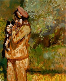 View Woman With Cat by Ruskin Spear on artnet. Browse upcoming and past auction lots by Ruskin Spear. Jungle Cat, Impressionist Artists, Group Art, Global Art, Catwoman, Art Market, Cat Art, Oil On Canvas, Fine Art