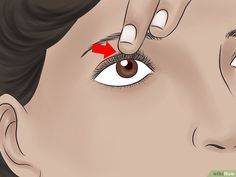 How to Tightline Eyes. Tightlining, also called invisible eyeliner, is a technique in which you line your upper waterline to subtly define and thicken the appearance of your eyelashes. Eyelashes, Eyeliner, Disney Characters, Fictional Characters, Snow White, Eyes, Disney Princess, Anime, Pictures