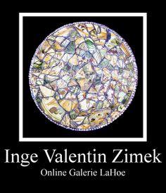 Inge Valentin fordert den Beschauer auf, sich mit dem Medium Glas und dem Schaffensprozess zu befassen. Bei Bildern und Objekten aus antikem Glas beginnt der Schaffensprozess während der Scherbensuche. Bei Bildern aus gegenständlichem Glas ist es die suche, gegebene Farben im Glas zu finden, um den Pinsel zu ersetzen. Die Ausdruckskraft farbiger Gläser soll die Aussage vermitteln, mit Glas zu komponieren. Ausgezeichnet mit dem Goldenen Ehrenzeichen des Landes Steiermark. Online Galerie, New Art, Decorative Plates, Medium, Coloured Glass, Brushes, Searching, Projects, Colors