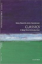 Classics: A Very Short Introduction: Paperback: Mary Beard - Oxford University Press