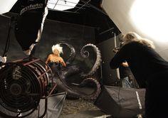 Behind the scenes - Disney Dream portrait series by Annie Leibovitz