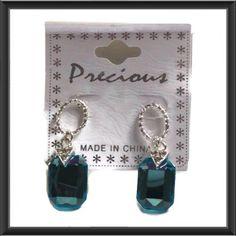 "Spotted while shopping on Poshmark: ""Azure Jeweled Drop Earrings""! #poshmark #fashion #shopping #style #Jewelry"