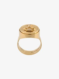 Diamond Protection Signet ring | Foundrae