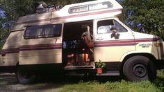 Chevy 20 living #vanlife #vanliving