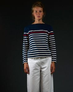 Marinière Paimpol femme blanc - Armel Brittany   Stripes   Pinterest 2c00b9d91d68