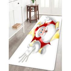 twinkledeals Bathroom Rugs, Bath Rugs, Christmas Rugs, Indoor Outdoor Area Rugs, White Area Rug, Home Textile, Carpet, Santa, Flooring