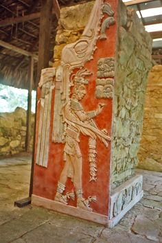 Palenque is a Classic Mayan ruin in the state of Chiapas, Mexico Aztec Ruins, Mayan Ruins, Ancient Ruins, Ancient Art, Ancient History, Fresco, Maya Civilization, Aztec Culture, Inka