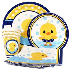 Little Ducky Party Supplies at Birthday Direct