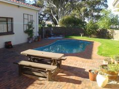 Perazim Bed & Breakfast in on Avenue, nr 19 in Kleinmond is owned and manage by the friendly Chris and Clare Docking. Clare comes fro. Holiday Accommodation, B & B, Bed And Breakfast, South Africa, Outdoor Decor, House, Home Decor, Decoration Home, Home