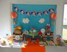 "Planes, aviones / Birthday ""Planes para Joaco"" 