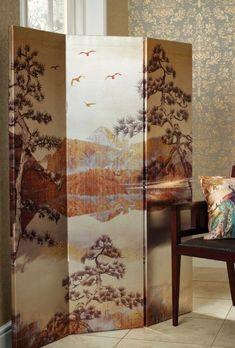 Kyasha Gold Screen by Arthouse - Gold : Wallpaper Direct