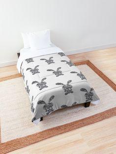 """Cray Cray Bunz"" Comforter by YollieBeeArt   Redbubble"