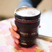 Camera Lens Mug #Photojojo