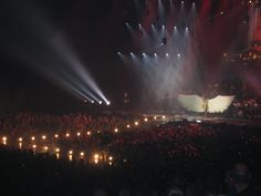 Elements 2012.  An angel on stage