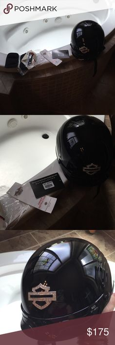 Harley - Davidson women's helmet Brand new with tags never used size medium Harley-Davidson Accessories Hats