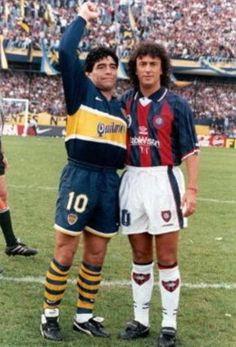 Maradona & Gorosito , Boca-San Lorenzo