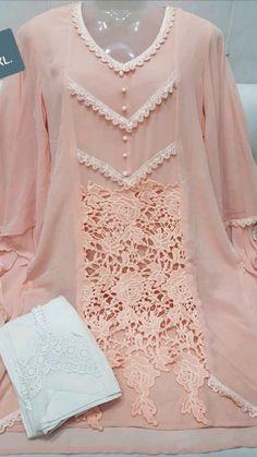 Beautiful Pakistani Dresses, Pakistani Dresses Casual, Pakistani Bridal Dresses, Indian Fashion Dresses, Pakistani Dress Design, Fancy Dress Design, Stylish Dress Designs, Sleeves Designs For Dresses, Dress Neck Designs